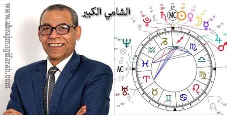 توقعات الابراج الثلاثاء 13-8-2019 الشامي الكبير